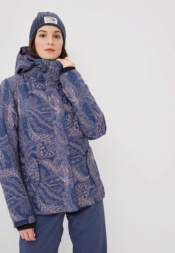 Купить Куртка горнолыжная Roxy, ROXY JETTY, ro165ewcfin2, синий, Осень-зима 2018/2019