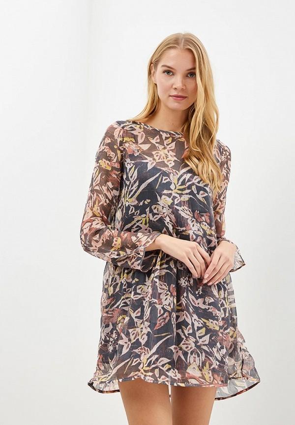 Купить Платье Roxy, ro165ewcfiq7, розовый, Осень-зима 2018/2019