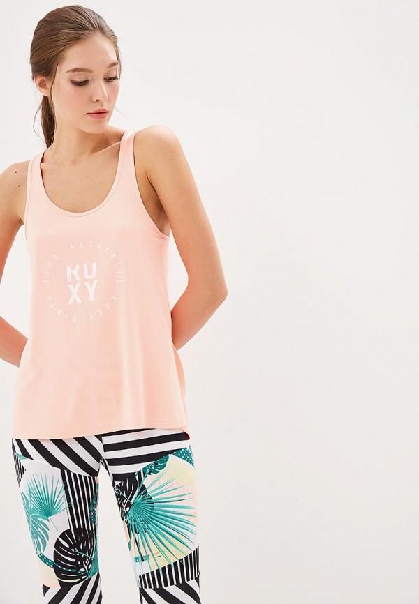 Майка спортивная Roxy Roxy RO165EWEDQI1 карапуз пупс озвученный hello kitty цвет одежды розовый
