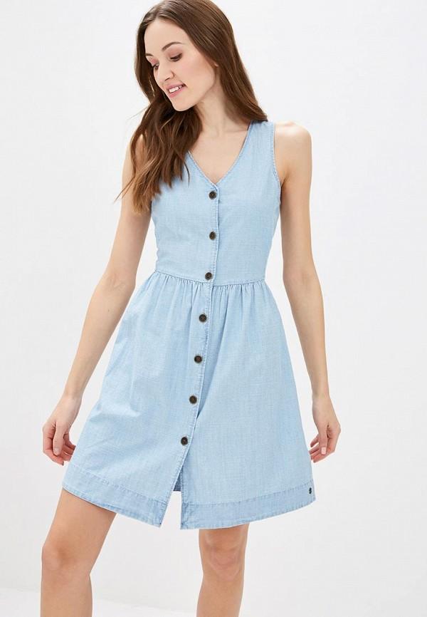 Платье джинсовое Roxy Roxy RO165EWEGUK8 платье roxy roxy ro165ewakdh3