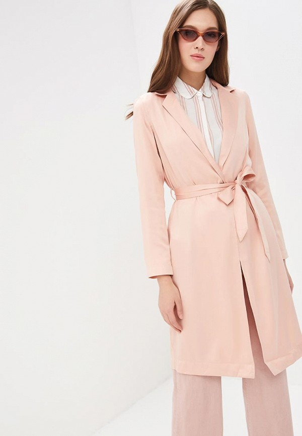 женский плащ roxy, розовый