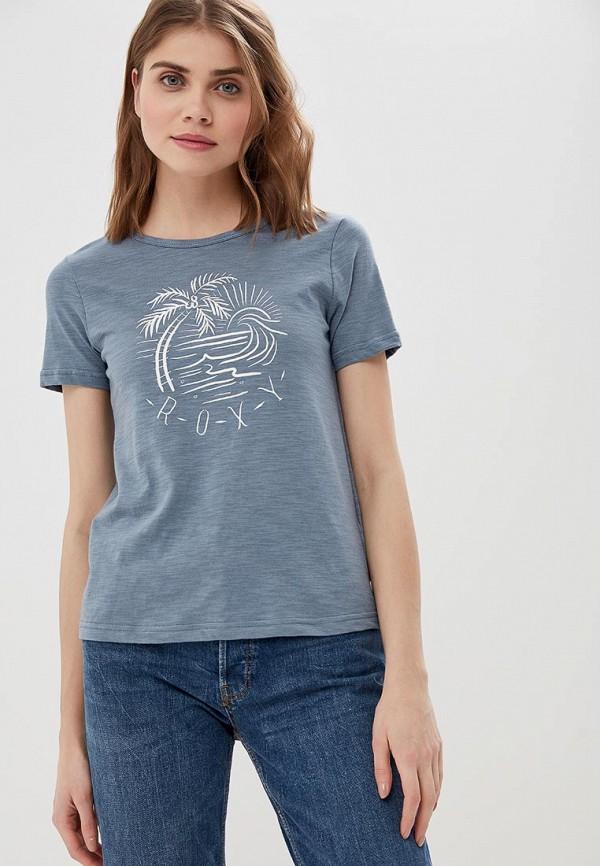 Футболка Roxy Roxy RO165EWEGUS3 футболка женская roxy clouds цвет синий erjkt03259 pqf0 размер 48 xl