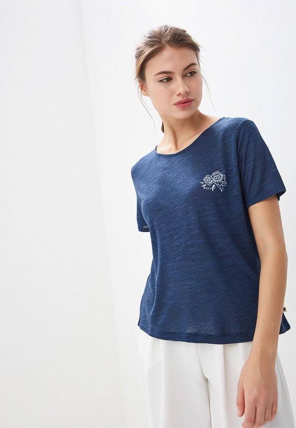 Футболка Roxy Roxy RO165EWEGUT3 футболка женская roxy clouds цвет синий erjkt03259 pqf0 размер 48 xl