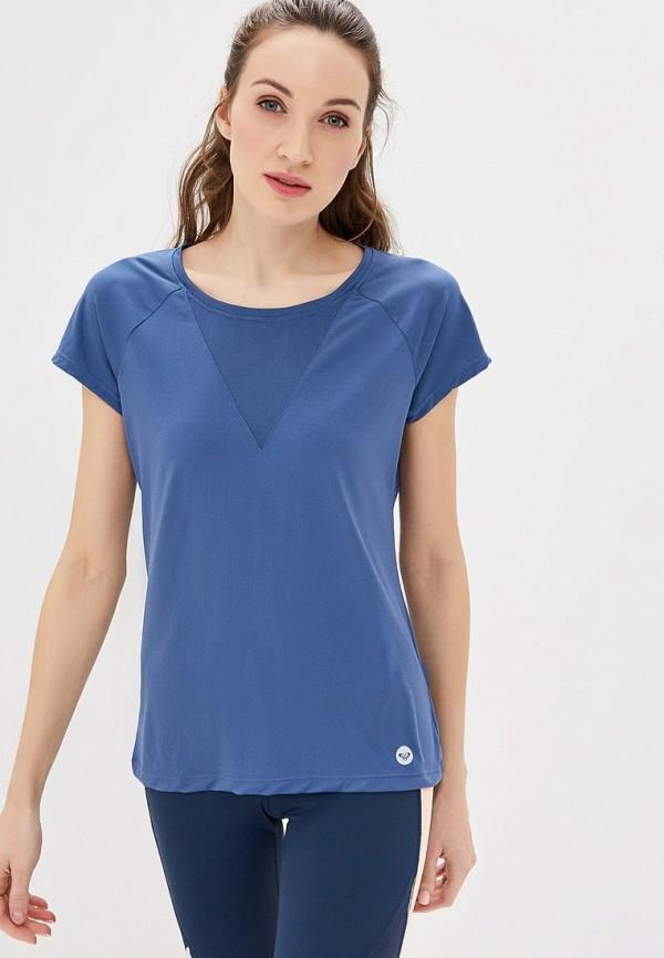 Футболка спортивная Roxy Roxy RO165EWEGUX7 футболка женская roxy clouds цвет синий erjkt03259 pqf0 размер 48 xl