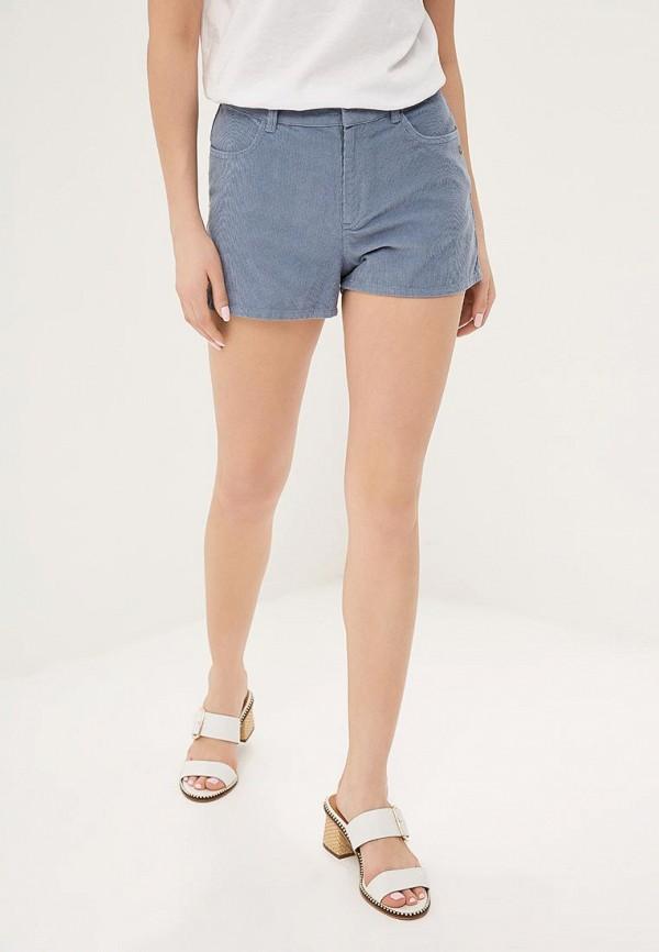 женские шорты roxy, голубые
