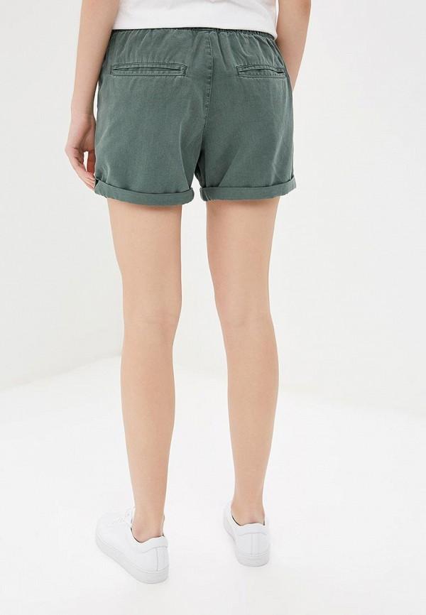 Фото 3 - женские шорты Roxy зеленого цвета