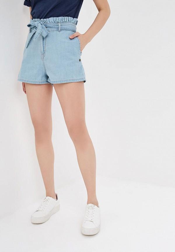 женские спортивные шорты roxy, голубые