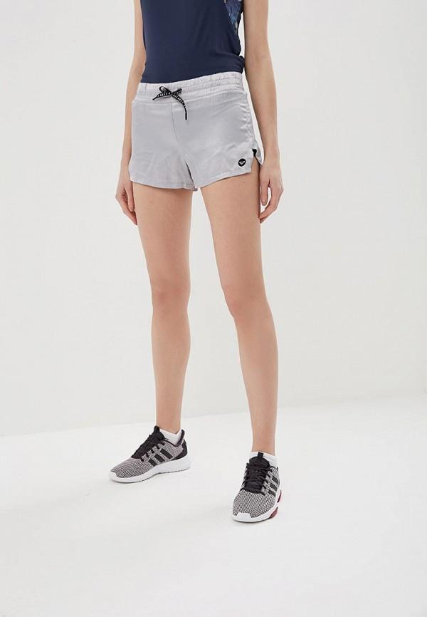 женские спортивные шорты roxy, серебряные