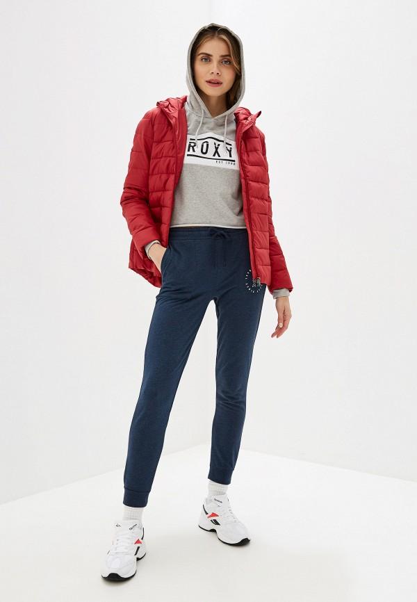 Фото 2 - Куртку утепленная Roxy красного цвета