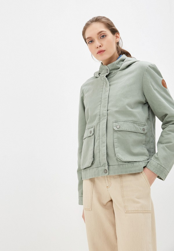 Куртка утепленная Roxy Roxy RO165EWEXKQ7 куртка женская roxy цвет зеленый erjtj03163 gph0 размер xs 40