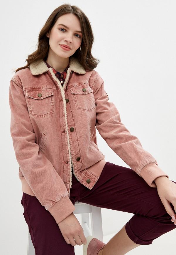 Куртка утепленная Roxy Roxy RO165EWEXKR0 roxy куртка roxy ellie true black fw17 l