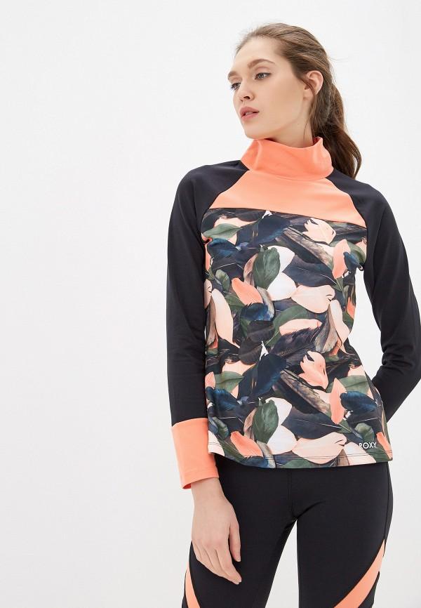 женский свитшот roxy, оранжевый