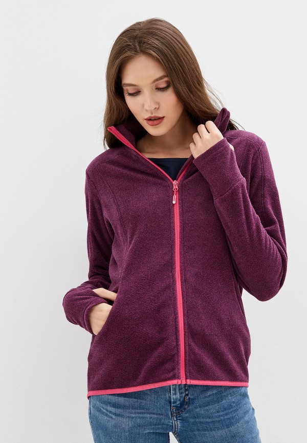 женская олимпийка roxy, фиолетовая