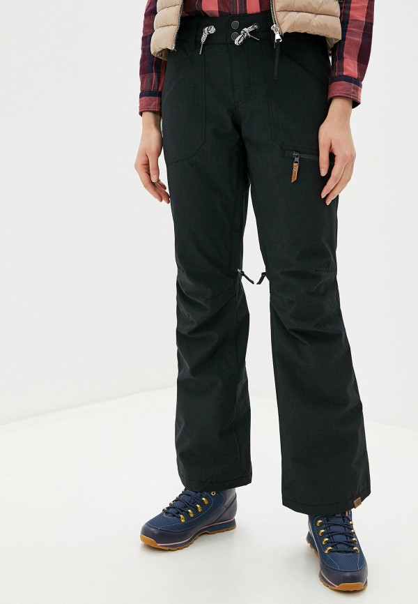 женские горнолыжные брюки roxy, черные