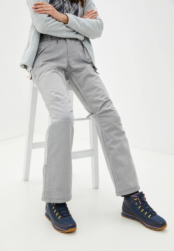 женские горнолыжные брюки roxy, серые
