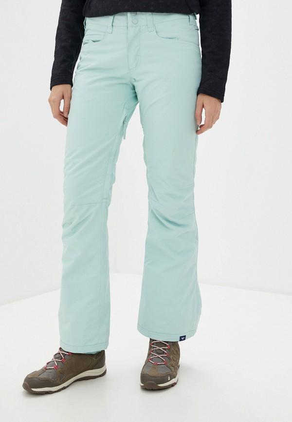 женские горнолыжные брюки roxy, зеленые