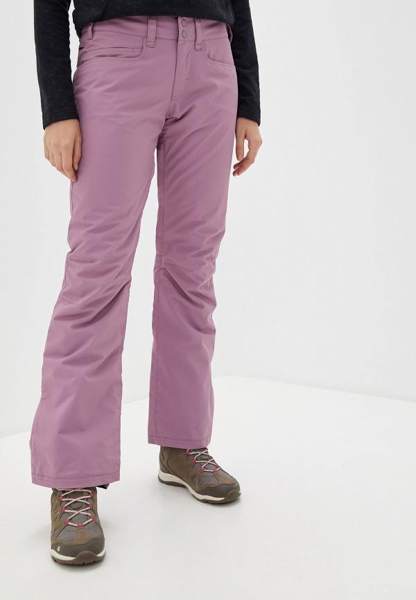 женские горнолыжные брюки roxy, розовые
