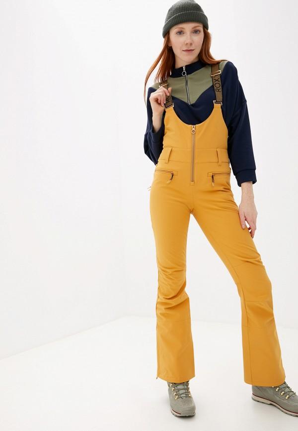 женские брюки roxy, оранжевые