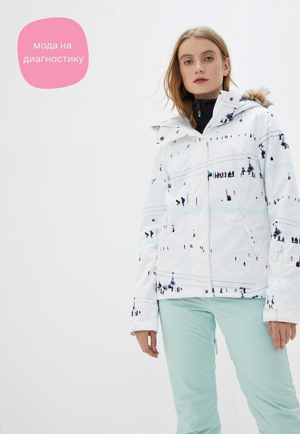 женская куртка roxy, белая