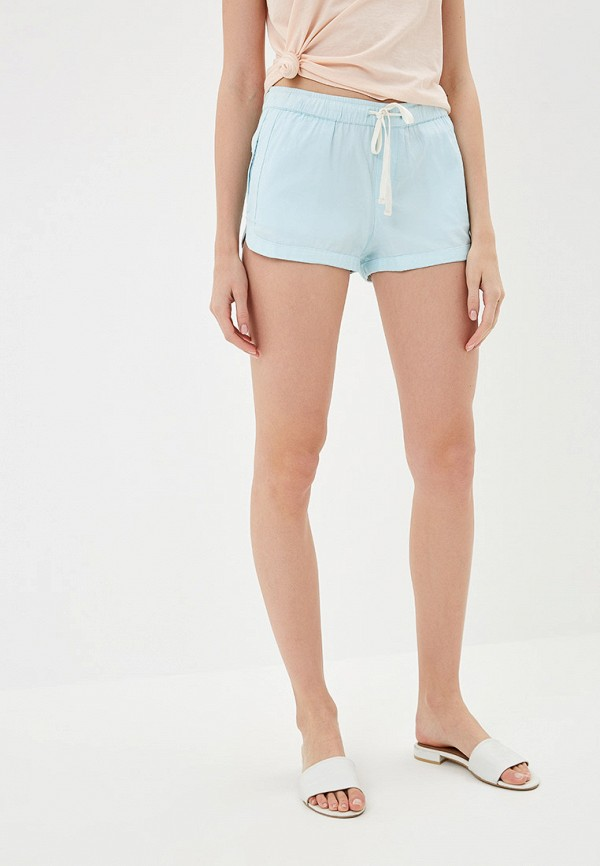 Фото - женские шорты Roxy голубого цвета