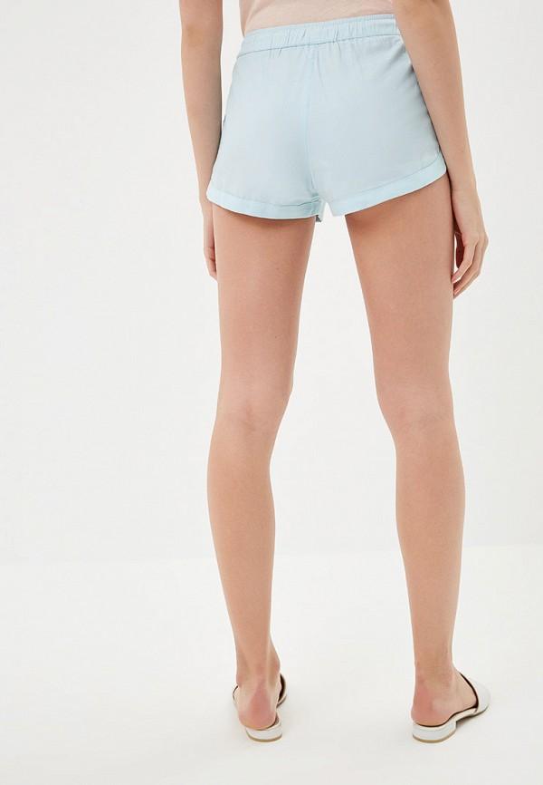 Фото 3 - женские шорты Roxy голубого цвета