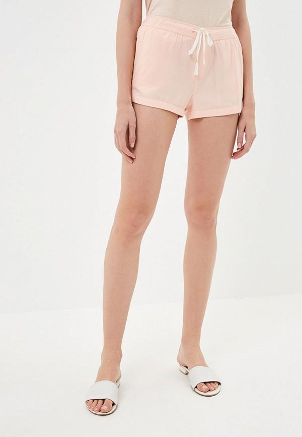 женские спортивные шорты roxy, розовые