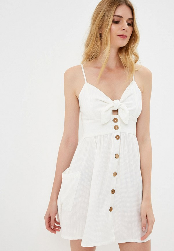 женское спортивные платье roxy, белое