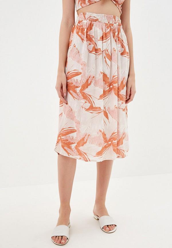 женская спортивные юбка roxy, оранжевая