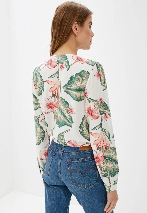 Фото 3 - женскую блузку Roxy белого цвета