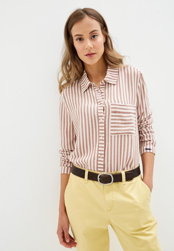 женская рубашка с длинным рукавом roxy