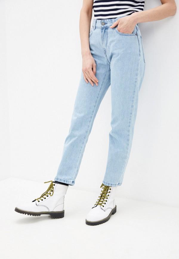 женские джинсы бойфренд roxy, голубые