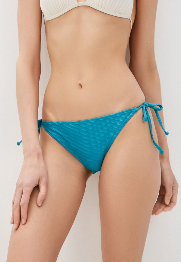 женские плавки roxy, голубые