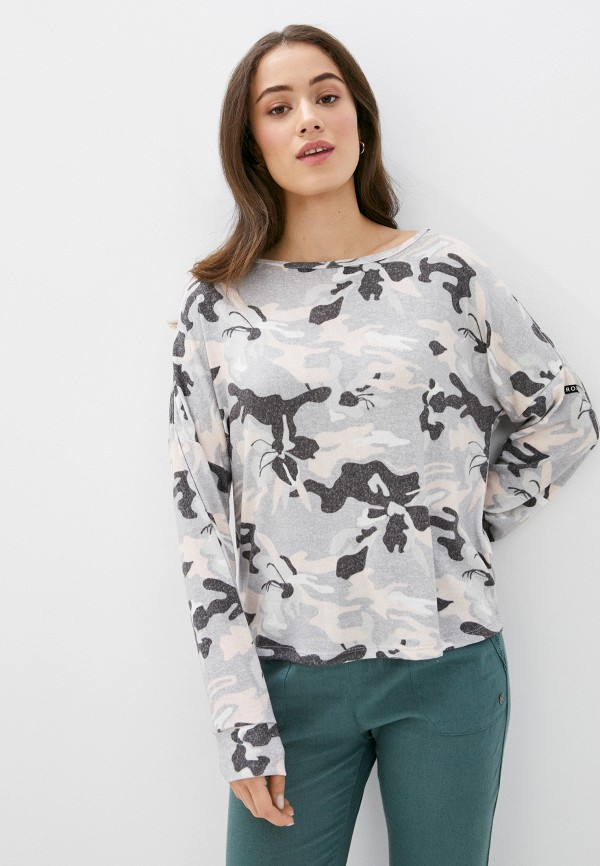 женский свитшот roxy, серый