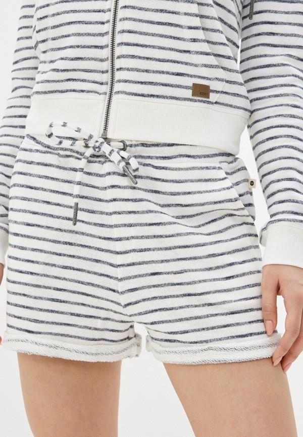 женские повседневные шорты roxy, белые