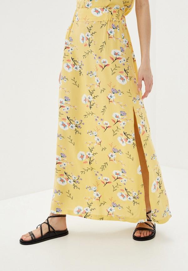 женская спортивные юбка roxy, желтая