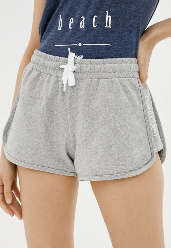 женские спортивные шорты roxy, серые