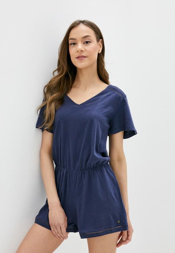 женский комбинезон roxy, синий