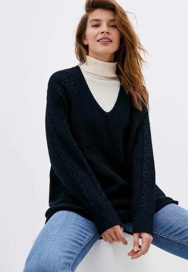 женский пуловер roxy, синий