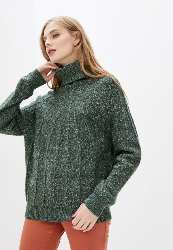 женский свитер roxy, зеленый