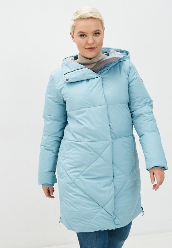 женская куртка roxy, голубая