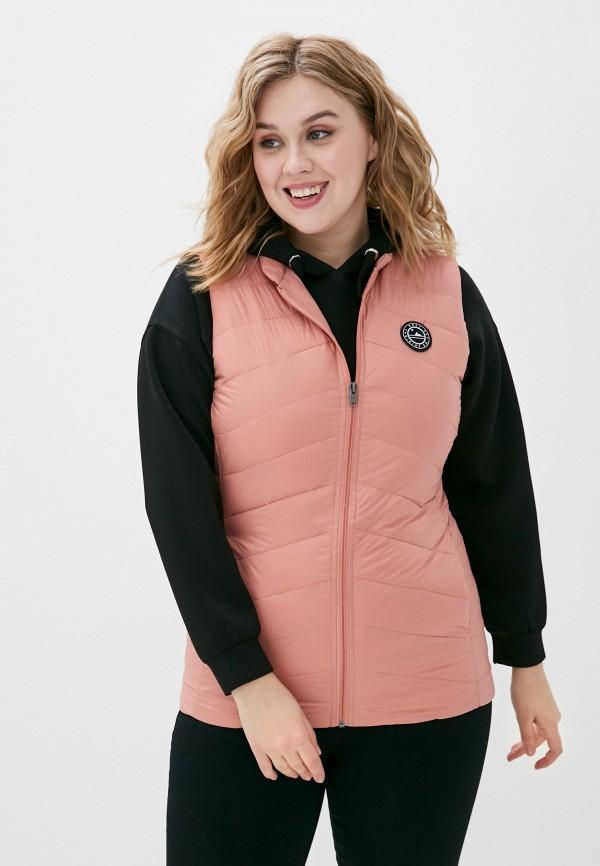 женский жилет roxy, розовый