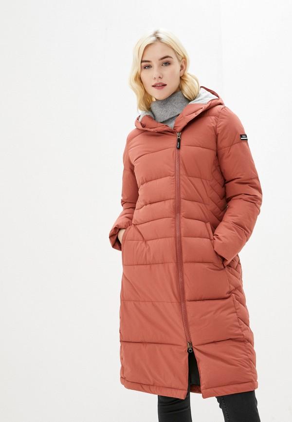 женская куртка roxy, коричневая