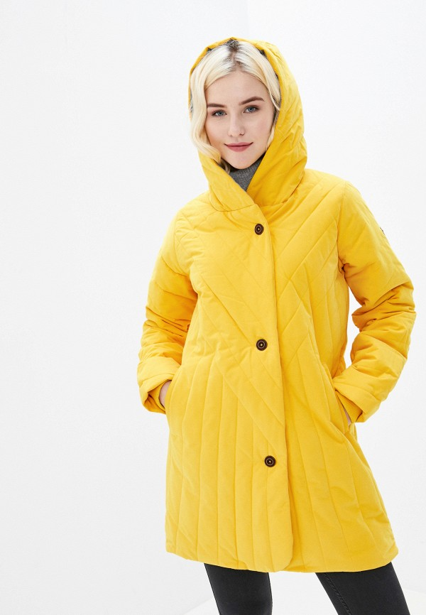 женская куртка roxy, желтая