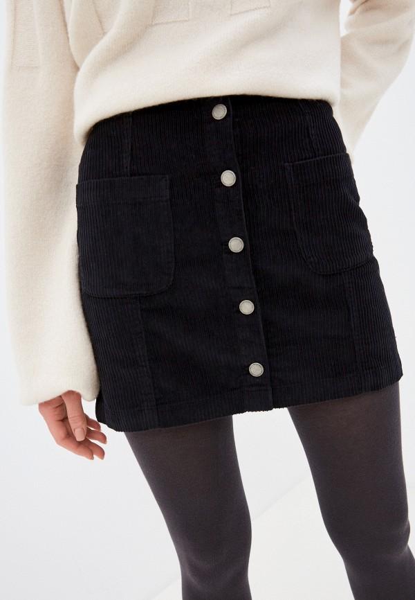 женская спортивные юбка roxy, черная