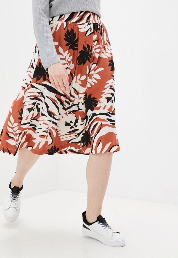 женская спортивные юбка roxy, коричневая