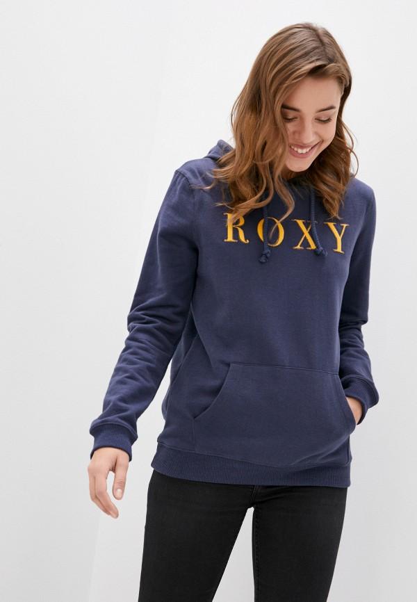 женские худи roxy, синие