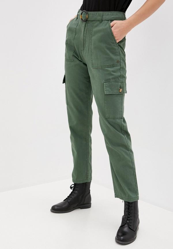 женские брюки карго roxy, хаки