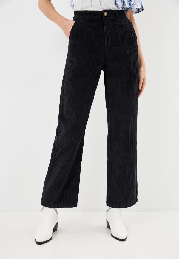женские повседневные брюки roxy, синие