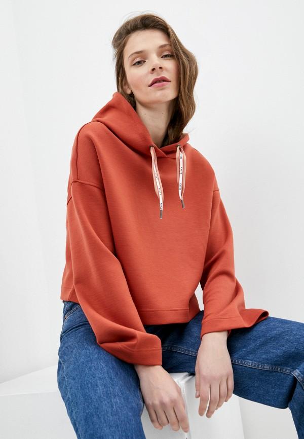 женские худи roxy, оранжевые