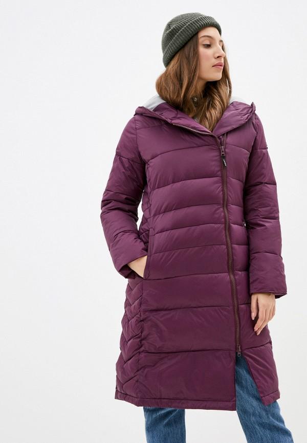 женская куртка roxy, фиолетовая